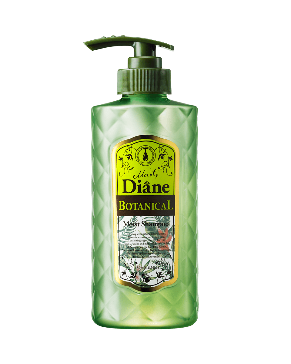 Moist Diane Botanical Moist Shampoo 480ml Usa Official Site