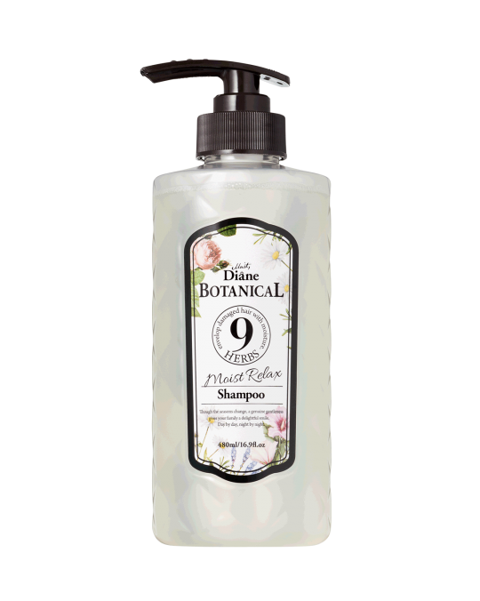 Moist Diane Botanical 9 HERBS MOIST RELAX Shampoo