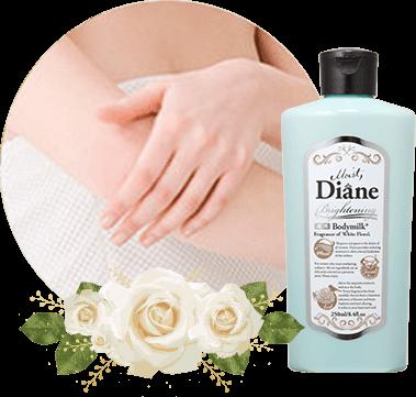 Moist diane bodymilk fragrance of white floral 250ml usa official site white floral fragrance mightylinksfo